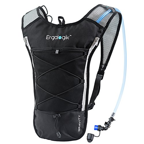 ErgaLogik Gravity 70 UltraLight 2L Hydration Pack – Great for Running, Hiking, Cycling and ...