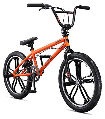 Mongoose Legion Mag 20″ Wheel Freestyle Bike, Orange, One Size