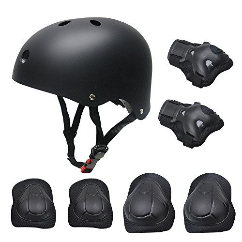 Kid's Protective Gear Set,Roller Skating Skateboard BMX Scooter Cycling Protective Gear Pa ...