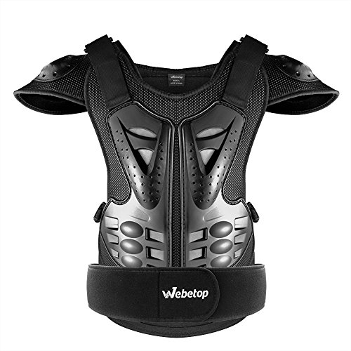 Webetop Adults Dirt Bike Body Chest Spine Protector Armor Vest Protective Gear for Dirtbike Bike ...