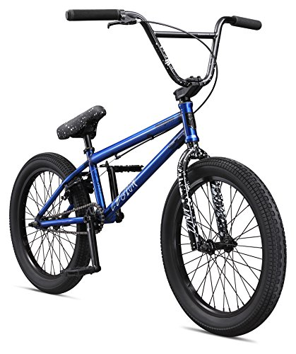 Mongoose Boys Legion L80 Bicycle, Translucent Blue, One Size/20″