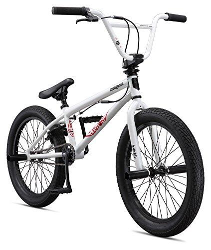 Mongoose Boys Legion L20 Bicycle, White, One Size/20″