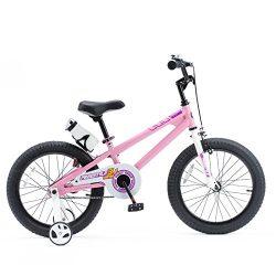 Royalbaby RB18B-6P BMX Freestyle Kids Bike, Boy's Bikes and Girl's Bikes with traini ...