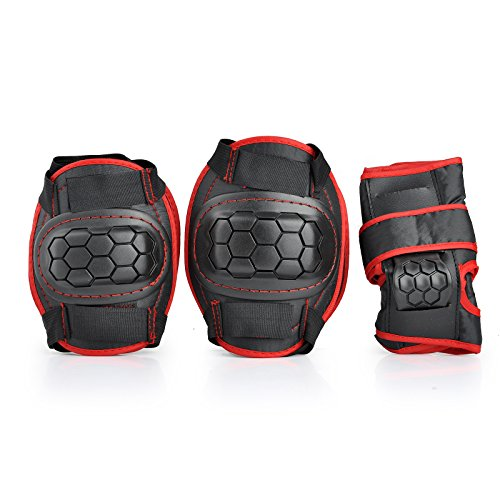 Kids Children Roller Skating Skateboard BMX Scooter Cycling Protective Gear Pads (Knee pads+Elbo ...