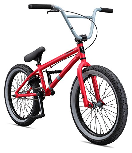 Mongoose Boys Legion L60 Bicycle, Red, One Size/20″