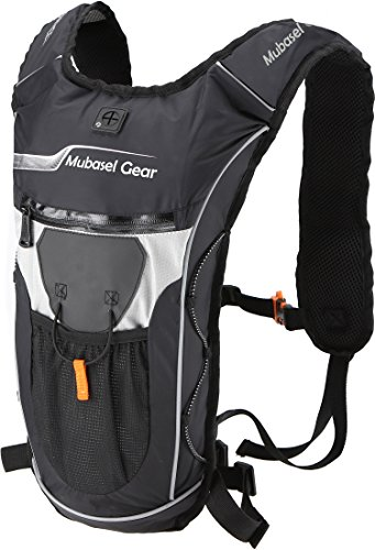 Hydration Backpack Pack With 2L BPA FREE Bladder – Lightweight Pack Keeps Liquid Cool Up t ...