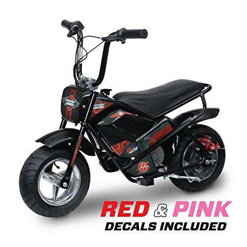 Monster Moto 250 Watt Electric Mini Bike – MM-E250-PR