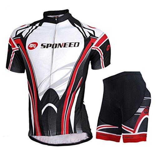 Cycling Jersey Men Short Sleeve Biking Shorts Clothing Pants Jacket Outfit Asia 3XL/ US XXL