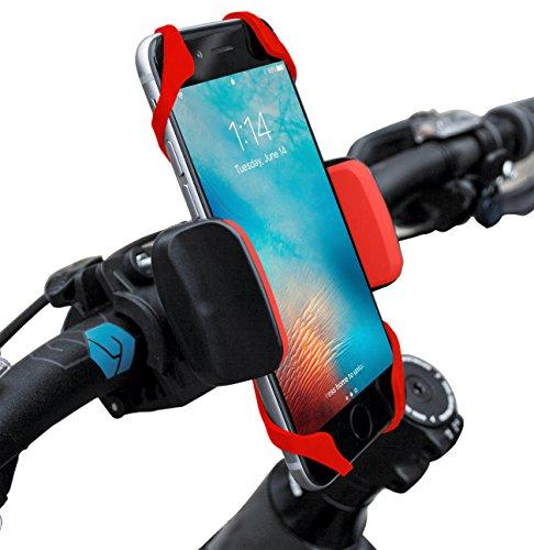 Widras Universal Premium Bike Phone Mount for Motorcycle – Bike Handlebars, Adjustable, Fi ...