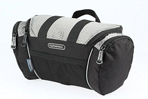 Roswheel® 11491 Portable Waterproof Durable 4L Reflective Bicycle Handlebar Bag Quick Release Bi ...