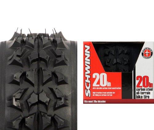 Schwinn Big Knobby Bike Tire (Black, 20 x 1.95-Inch)
