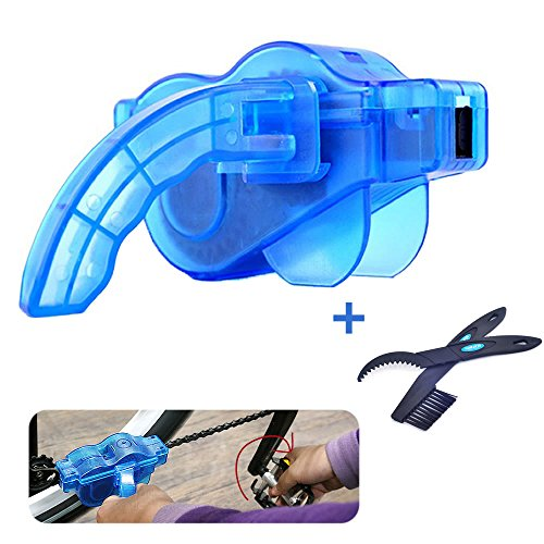 Bike Chain Cleaner Tool set with Rotating Brushes Bicycle Accessories Bicycle Scrubber kit Cycli ...