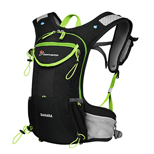 Mountaintop Running Hydration Backpack for Hiking Biking Cycling Climbing Water Hydration Pack R ...