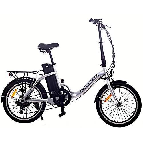 Cyclamatic CX2 Bicycle Electric Foldaway Bike with Lithium-Ion Battery