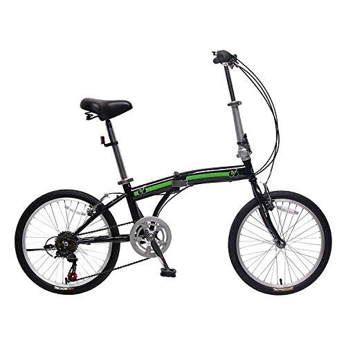 IDS Home Unyousual U Arc Folding City Bike Bicycle 6 Speed Steel Frame Shimano Gear Wanda Tire,  ...