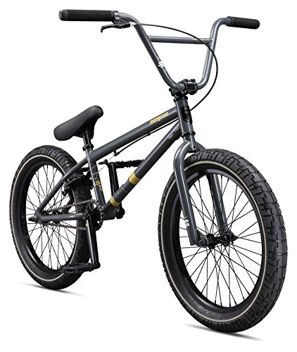 Mongoose Boys Legion L60 Bicycle, Black, One Size/20″