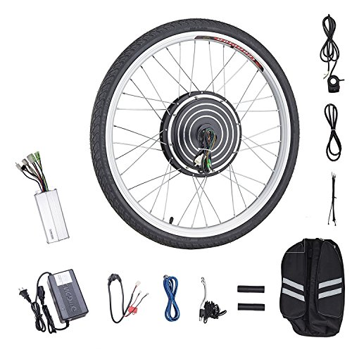 Pinty FT2000 26″ Front Wheel 48V 1000W Ebike Hub Motor Conversion Kit with Dual Mode Contr ...