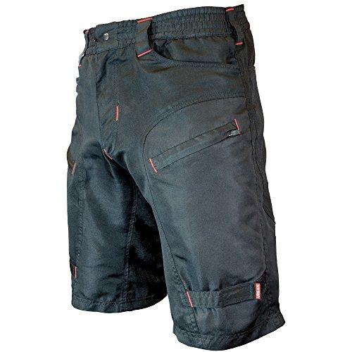 THE SINGLE TRACKER-Mountain Bike Cargo Shorts, Without Padded Undershorts, Medium 29-31″