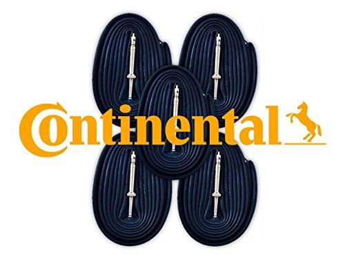 Continental Race 28 700c x 18-25 Bike Tubes (5 Pack) – 60mm Presta Valve