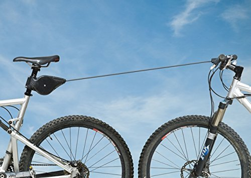 Bicyclebungee–Tandem Cycling on Two Bikes, Smooth Bike Tow, Ride With Your Kids!