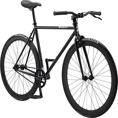 Pure Fix Original Fixed Gear Single Speed Bicycle, Juliet Matte Black, 61cm/X-Large