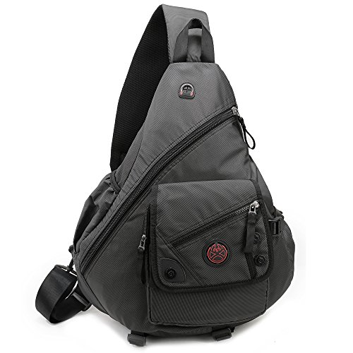 DDDH 15.6″ Sling Bags Laptop Crossbody Backpack Chest Shoulder Pack School Book Bag For Me ...