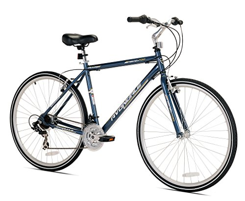 Kent Men's Avondale Hybrid Bicycle with Sure Stop Brakes, 19″