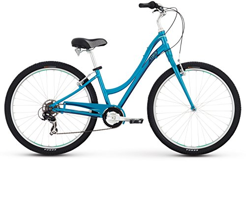 Raleigh Bikes Women's Circa 1 Step Thru Comfort Bike, 13″/X-Small, Blue