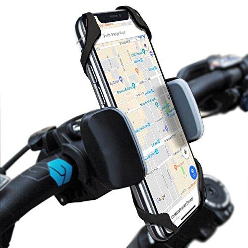 Widras Bike Mount Bicycle Phone Holder Universal Biking Cradle Handlebar Clamp for iOS Android S ...
