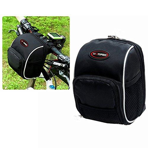 Bike Handlebar Bag, Bicycle Front Bags Cycling Waterproof Storage Under Seat Pack with Rainproof ...