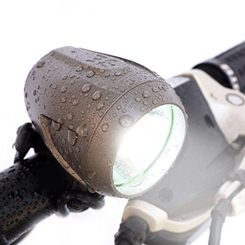 Bright Eyes NEWLY UPGRADED and FULLY WATERPROOF 1200 lumen Rechargeable Mountain, Road Bike Head ...