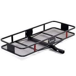 "60"" x 22.5"" Cargo Hitch Carrier by Vault – Haul Your Cooler & Camping Gear with this R ..."