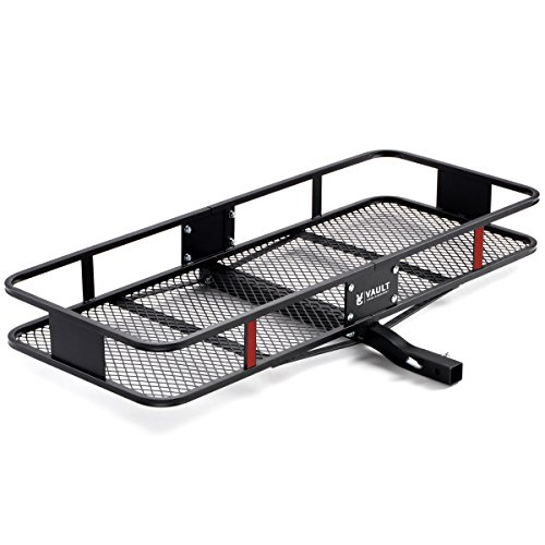 """60"""" x 22.5"""" Cargo Hitch Carrier by Vault – Haul Your Cooler & Camping Gear with this R ..."""
