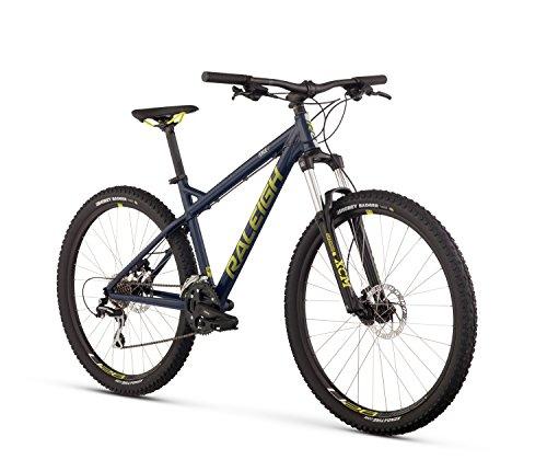 Raleigh Bikes Tokul 1 Mountain Bike, Blue, 19″/Large