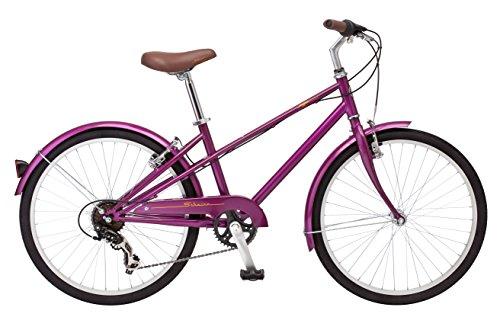Schwinn Mifflin 24″ Wheel Hybrid Bicycle, Magenta, One Size