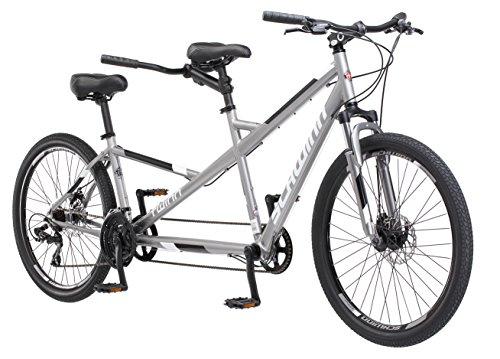 Schwinn Twinn Tandem 20″/ one size Wheel Bicycle, Grey One Frame Size