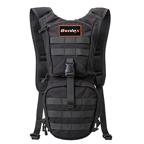 Hydration Pack Backpack Tactical – BONLEX Hight Quality Rucksack Water Backpack including  ...