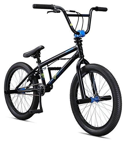 Mongoose Boys Legion L10 Bicycle, Black, One Size/20″