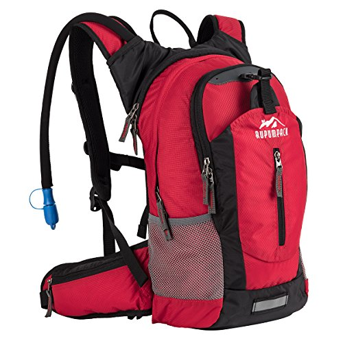 Insulated Hydration Backpack Pack with 2.5L BPA FREE Bladder, Lightweight Daypack Water Backpack ...