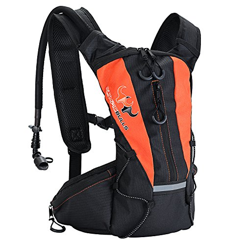 Sports Hydration Pack With Stronger Water Bladder 1.5L Bladder Pack,Multiple Storage Compartment ...