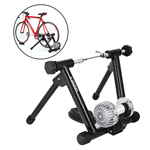 OrangeA Fluid Trainer with Resistance Shifter Portable Road Machine Indoor Bicycle Trainer for I ...
