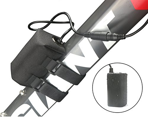 8.4v 8800mAh Rechargeable Battery Pack for Mountain Bike Light Bicycle Lights & Headlamps Si ...