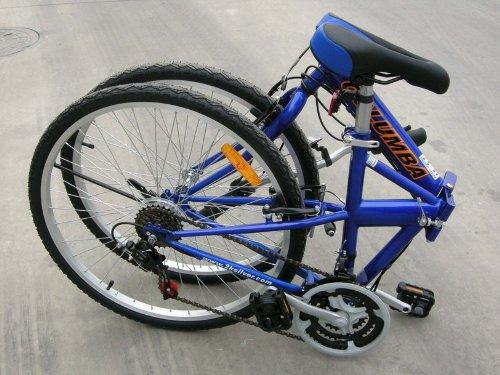 Columba 26″ Folding Bike w. Shimano 18 Speed Blue (SP26S_BLU)