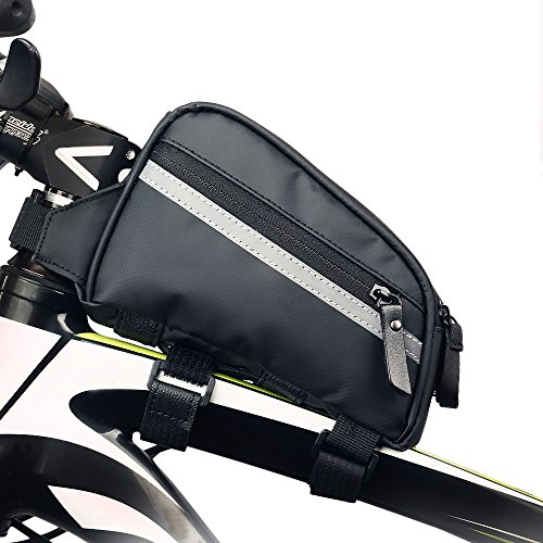 Top Tube Bike Bag Easy To Open Design Waterproof and Stable Bicycle Frame Bag
