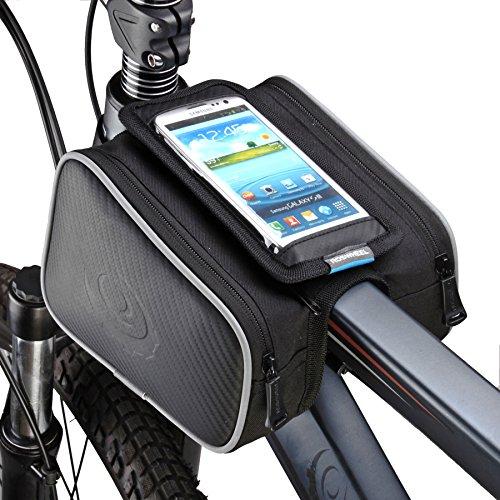 ArcEnCiel Cycling Frame Bag Head Tube Bag Front Top Tube Frame Pannier Double Bag Pouch Holder C ...