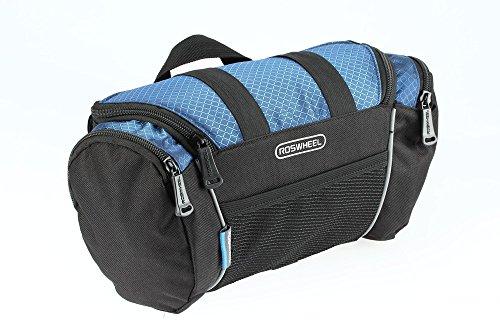 Roswheel 11491 Portable Waterproof Durable Reflective Bicycle Handlebar Bag Quick Release Bike F ...