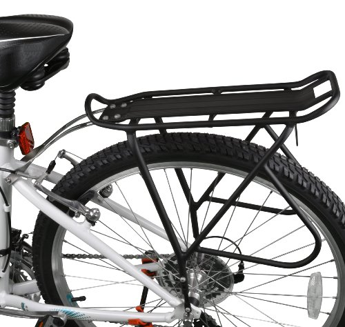 Ibera Bike Rack – Bicycle Touring Carrier with Fender Board, Frame-Mounted for Heavier Top & ...