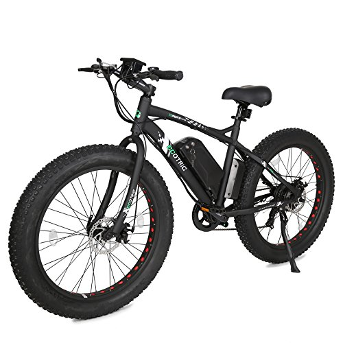 26″ Fat Bike Tire Wheel Men Snow Beach Mountain electric Bicycle 500W electric moped