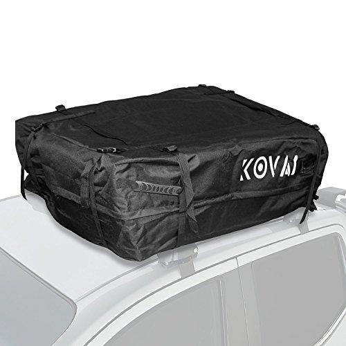 Kova Gear Rooftop Cargo Carrier Weatherproof Soft Bag (14.5 Cubic Ft Storage)