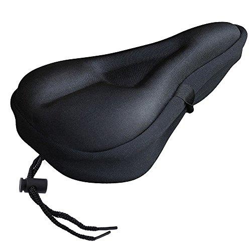 Zacro Gel Bike Seat – Extra Soft Gel Bicycle Seat – Bike Saddle Cushion with Water&a ...